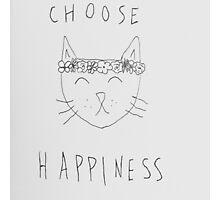 Choose Happiness Photographic Print