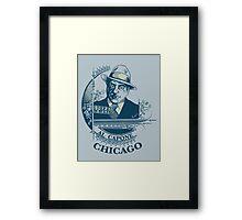 Al Capone OG Framed Print