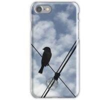 Bird on a Wire iPhone Case/Skin