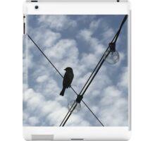 Bird on a Wire iPad Case/Skin