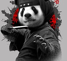 NINJA PANDA by MEDIACORPSE