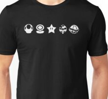 White mario items Unisex T-Shirt