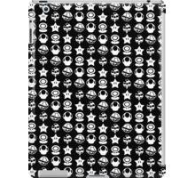 White mario items iPad Case/Skin