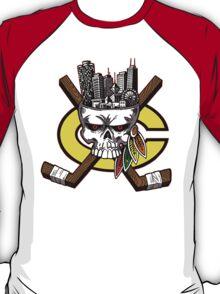 Chicago Blackhawks Skyline T-Shirt
