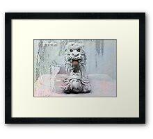 korean dragon Framed Print
