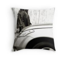 The Last Intersection Throw Pillow