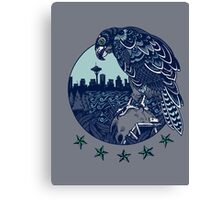 Seattle Seahawks Skyline Canvas Print