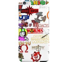 Memories of videogames iPhone Case/Skin