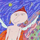 """Fly angel""- Children Colorful Fantasy Stories by John Kalokyris (Arran)"