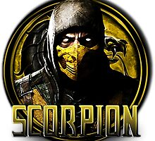 MKX - Scorpion by mrmadhatter
