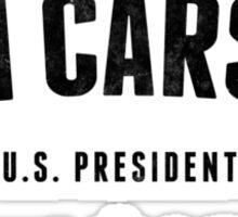 Vote Ben Carson 2016  Sticker