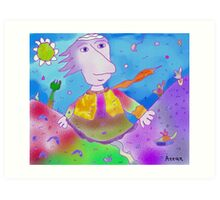 """Glory""-Children Colorful Fantasy Stories Art Print"