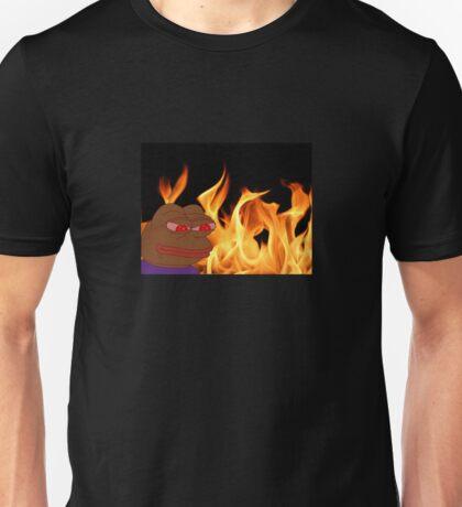 Fiery Pepe Unisex T-Shirt
