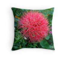 RED ORB Throw Pillow