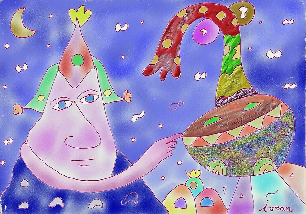 """Good Heavens""-Children Colorful Fantasy Stories by John Kalokyris (Arran)"