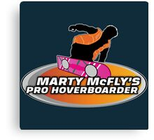 McFly's Pro Hoverboarder Canvas Print