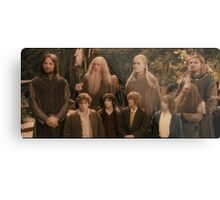 The Fellowship of the Ring Metal Print