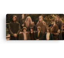 The Fellowship of the Ring Canvas Print
