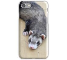 Briefly in thought iPhone Case/Skin