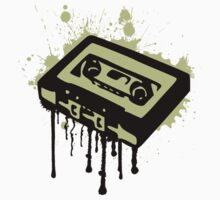 Cassette Splatter by JohnLucke