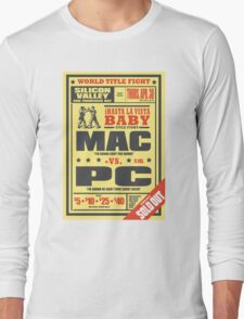 Mac vs. PC Long Sleeve T-Shirt