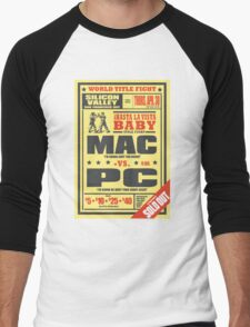 Mac vs. PC Men's Baseball ¾ T-Shirt