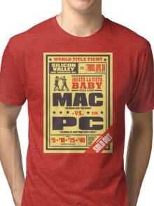 Mac vs. PC Tri-blend T-Shirt