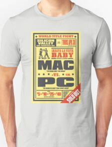 Mac vs. PC Unisex T-Shirt