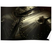 old knight's armor Poster