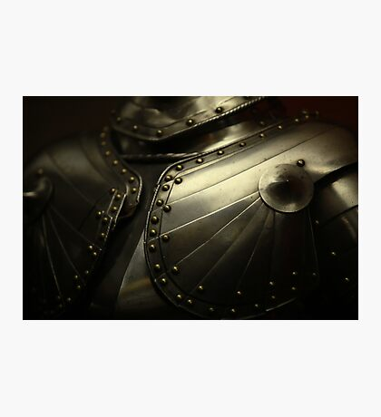 old knight's armor Photographic Print