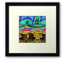 Do You See Him Too? Framed Print