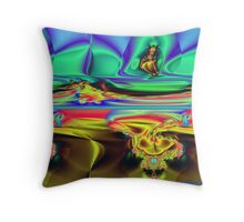 Do You See Him Too? Throw Pillow