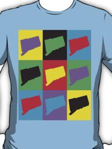 Pop Art Connecticut T-Shirt