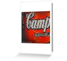 Campy Greeting Card