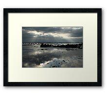 ...montagu dusk Framed Print