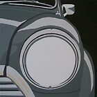 ORIGINAL MINI, HEADLIGHT by mphcarpaintings