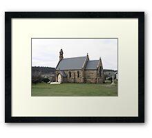St. Pauls Catholic Church - Oatlands Tasmania. Framed Print