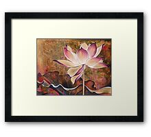 """While Waiting for the Sunrise"" from the series ""In the Lotus Land"" Framed Print"