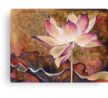 """While Waiting for the Sunrise"" from the series ""In the Lotus Land"" Canvas Print"