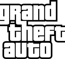 Grand Theft Auto Logo  by Kalerney