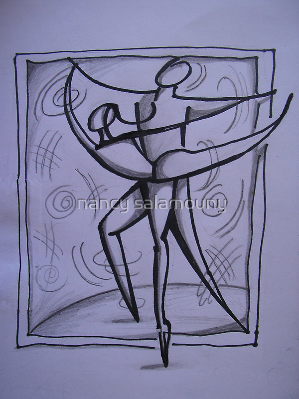 Dancing Lines by nancy salamouny