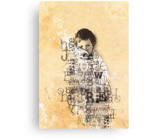 Little Boy Lost Canvas Print