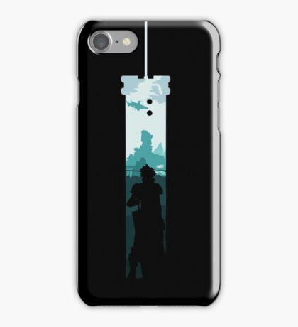 Cloud Strife - Buster Sword iPhone Case/Skin
