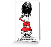 sheepish strength Greeting Card