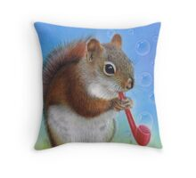 Bubbles and Blessings Throw Pillow