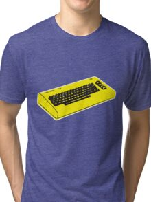 C64... retro gaming at it's best Tri-blend T-Shirt