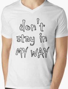 Get Off Mens V-Neck T-Shirt