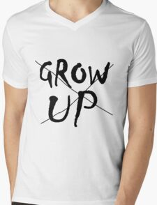 Never never never Mens V-Neck T-Shirt
