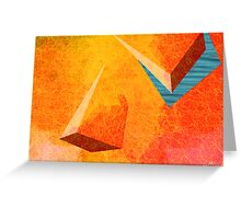 RED FISHING HOLE Greeting Card