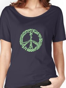 Peace in different languages Women's Relaxed Fit T-Shirt